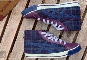 Sneaker high top blau/lila