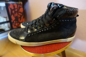 Sneaker, High-Top, Nieten, Lack, Kennel & Schmenger, Swarovski, Gr. 5 1/2 38