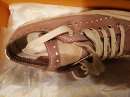 Candice Cooper Basket à lacet or rose
