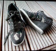 Sneaker Keilabsatz Camouflage