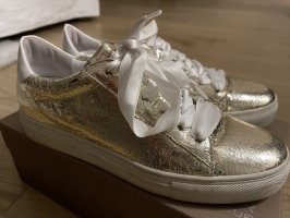 Kennel & Schmenger Heel Sneakers gold-colored-white