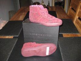 Liebeskind Berlin High Top Sneaker bordeaux-black leather
