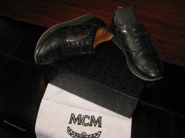 Sneaker MCM Schwarz Grau mir Schubeutel im Org. Karton