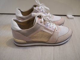 Michael Kors Sneaker stringata color oro rosa
