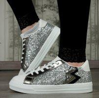 Sneaker mit Glitzer Gr.38