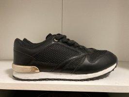 Sneaker neu schwarz gold