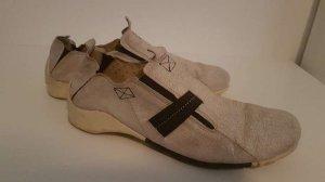 oXs Slip-on Sneakers light grey-oatmeal