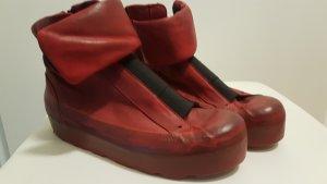 oXs Rubber Soul Hook-and-loop fastener Sneakers dark red-bordeaux