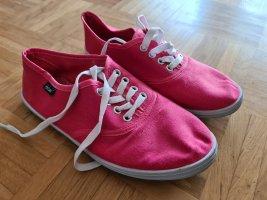 Antonio Sneakers met veters roze