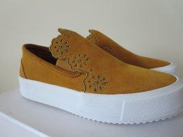 See by Chloé Slip-on Sneakers dark orange leather