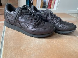 Reebok Sneaker stringata antracite Pelle