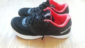 Sneaker Reebok, Schwarz/Pink, Größe 38,5