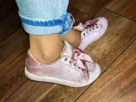 Sneaker Samt rose' Gr.36