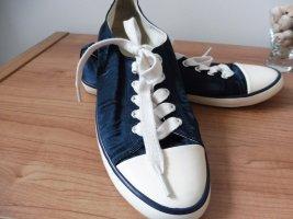 Sneaker satinartiger Stoff 39