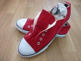 Sneaker Schuhe rot Gr. 40