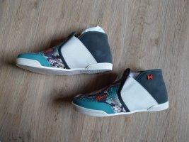 Sneaker Turnschuhe Halbschuhe Madison Butterfly Twists grau türkis Neu