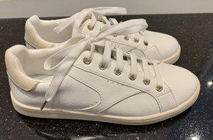 Sneaker, Turnschuhe, Leder, Weiß, Stradivarius, 39