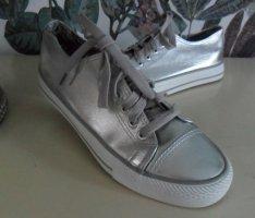 Sneaker/Turnschuhe, silber, Gr. 39 , nur 1x getragen