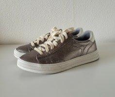 Sneaker / Turnschuhe von Esprit * Gr.36 * silber - weiß