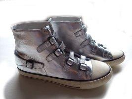 Sneaker Venice silber Leder Gr. 41