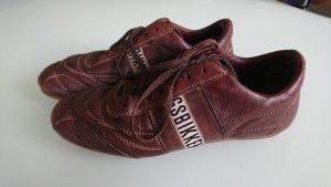 Bikkembergs Sneaker stringata marrone scuro