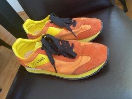 Calvin Klein Lace-Up Sneaker yellow-orange