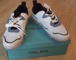 chillegs Sneakers met veters wit