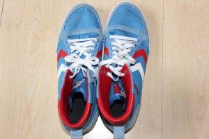 Hummel Skater Shoes red-blue