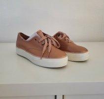Sneaker von Keds * Gr.36 * Leder * rose-metallic * Plateau * Neu