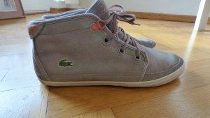 Sneaker von Lacoste, gefüttert, hellgrau / rosa