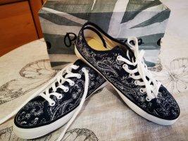Sneaker von Pepe Jeans mit blauem Muster