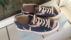 Sneaker von Philippe Model Birds blau Gr. 38 Flamingo Kranich