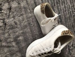 Pull & Bear Heel Sneakers white