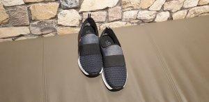 Rieker Slip-on Sneakers blue-dark blue textile fiber