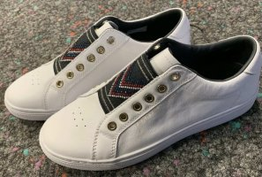 Tommy Hilfiger Slip-on Sneakers white leather