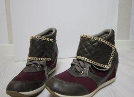 Sneaker Wedges Keilabsatz Boots 40