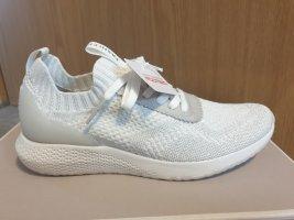 Tamaris Instapsneakers wit-zilver