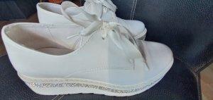 Sneaker weiß Glitzer gr 38