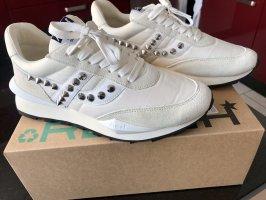 ASH Sneakers met veters wit-licht beige