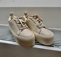 Zara Heel Sneakers natural white-cream