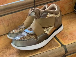 Guess Wedge Sneaker beige-gold-colored