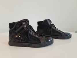 hogan rebel High Top Sneaker black