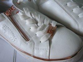 Sneakers Tom Tailor weiß und rosegold