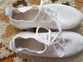 Slip-on Sneakers white mixture fibre