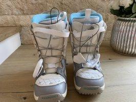 Salomon Snow Boots white-light blue