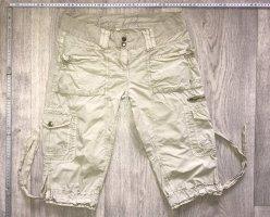 Soccx Pantalon 3/4 beige clair