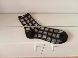 Socken transparent schwarz one size