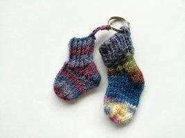 hand gemacht Key Chain multicolored cotton