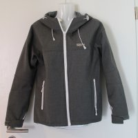2117 of Sweden Softshell Jacket grey-white