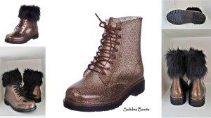 Solidea Combat Boots Gummistiefel Stiefelette transparent Gr. 38 - 39 NEU 229,-€